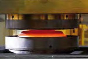The new 40 KT forging press is dedicated to forging disks for aeroengines