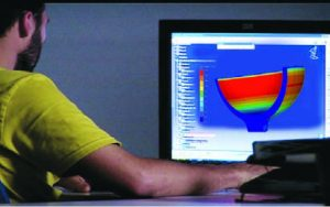 3D simulation software and experienced engineers for continuous R&D