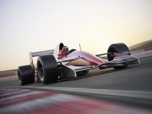 High performance metals for car racing applications