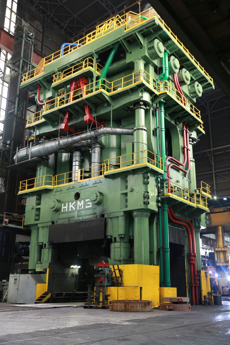 Forgings Closed Die Press Big Parts Aerospace Aubert