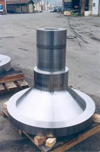 Aubert & Duval produces forgings for gas and steam turbines