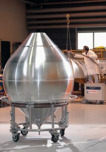 Aubert & Duval supplies hemispherical shells for space buffer tanks