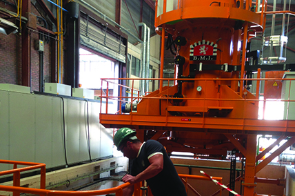Low-pressure carburizing, tempering, gas nitriding heat treatments