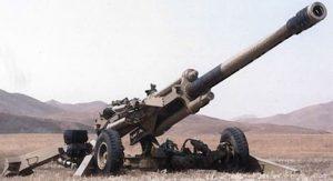 Artillerie et véhicules militaires
